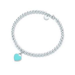 Tiffany & Co. blue bead bracelet